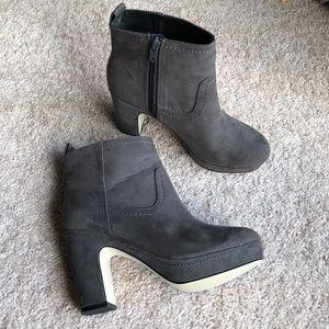 H&M Gray Platform Boots